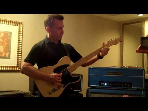 NY Amp Show Tomaszewicz TZZ-40 70H Demo -Billy Penn 300guita