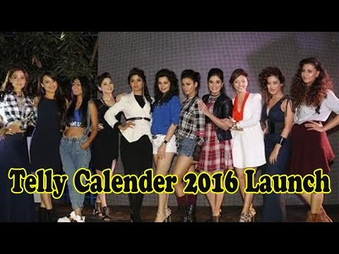 Surbhi Jyoti, Nia Sharma And More Attend Telly Calender 2016 Launch | 22nd December 2015
