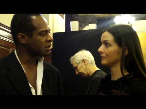 Annie Churchill and Frederick Anderson at the Doug...