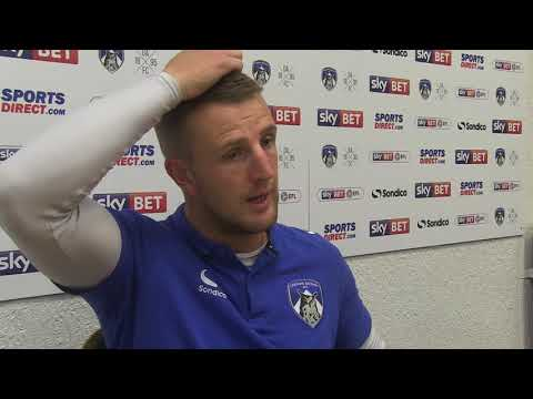 Peter Clarke's Post Match Interview Against Peterborough United