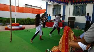 Group dance, couple dance, and solo song at IIIT Bhagalpur, 15 August celebration 2018