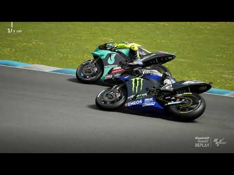 MotoGP21 - Valentino Rossi - Circuit Jerez - Game Replay HD 1080 |
