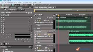 Интерфейс в Adobe Audition CS 5.5 (17/25)