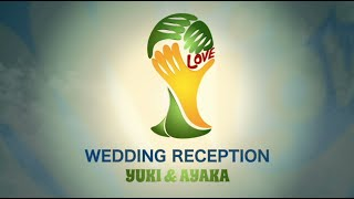 《Football/OP》 - 結婚式 オープニングムービー - スタジオロビタ