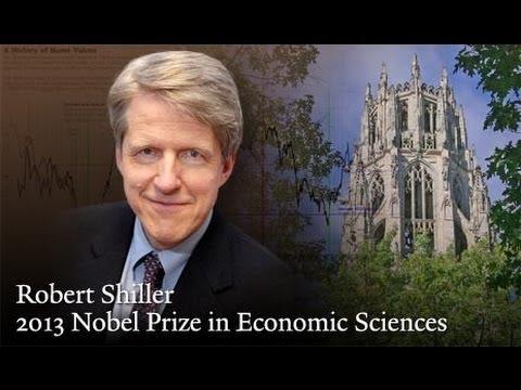 Robert J. Shiller shares 2013 Nobel Prize in Economic Sciences