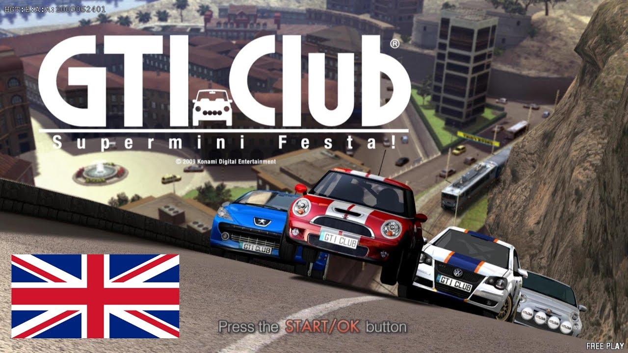 GTI Club Supermini Festa (Teknoparrot) England (upscaled 4K/60fps) by  MrThunderwing