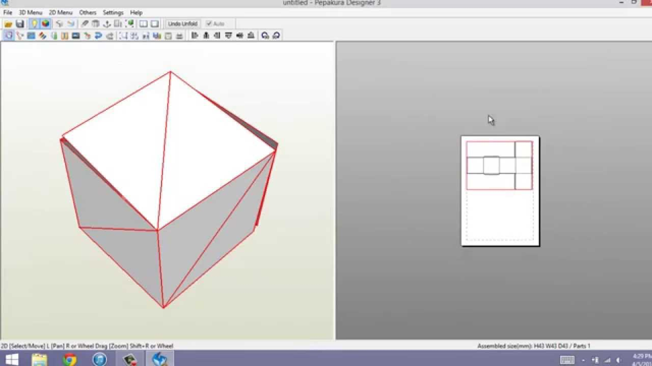 How to- Add Blender Files to Pepakura Designer