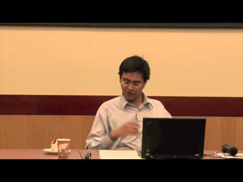 "Professor Rana Mitter: ""China's Wartime History and Contemporary East Asia"""