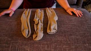how to make a realistic sock packer
