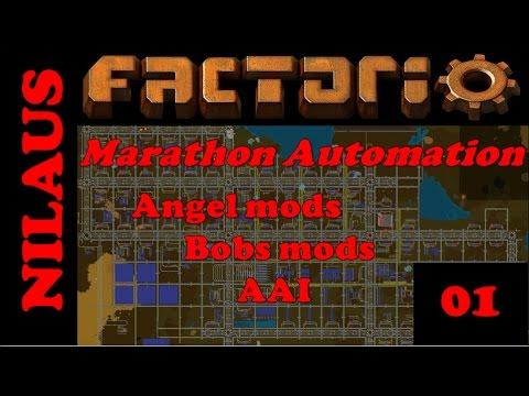"Factorio - Marathon Automation - E01 - Rebooting ""Season 8"""