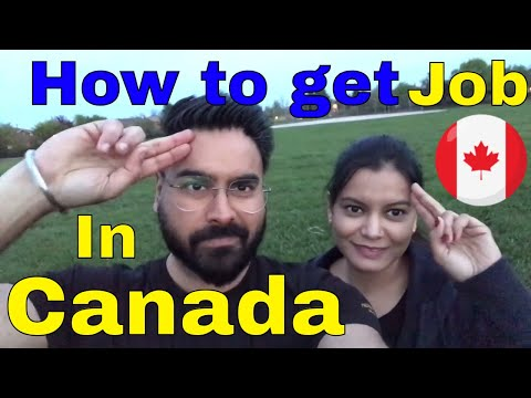 How to get job in Canada - Part 2