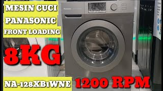 Review Mesin Cuci Front Loading Panasonic Na 128xb1lne Cute766