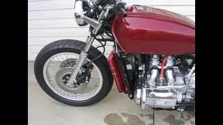 GL1000 Goldwing Straight Pipes