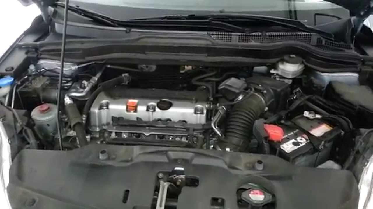 2011 Honda Cr V With K24z 2 4l I4 Engine Running After Oil