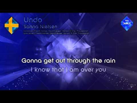 """Sanna Nielsen - """"Undo"""" (Sweden) - [Instrumental version]"""