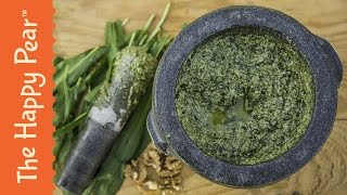 Homemade Garlic Pesto
