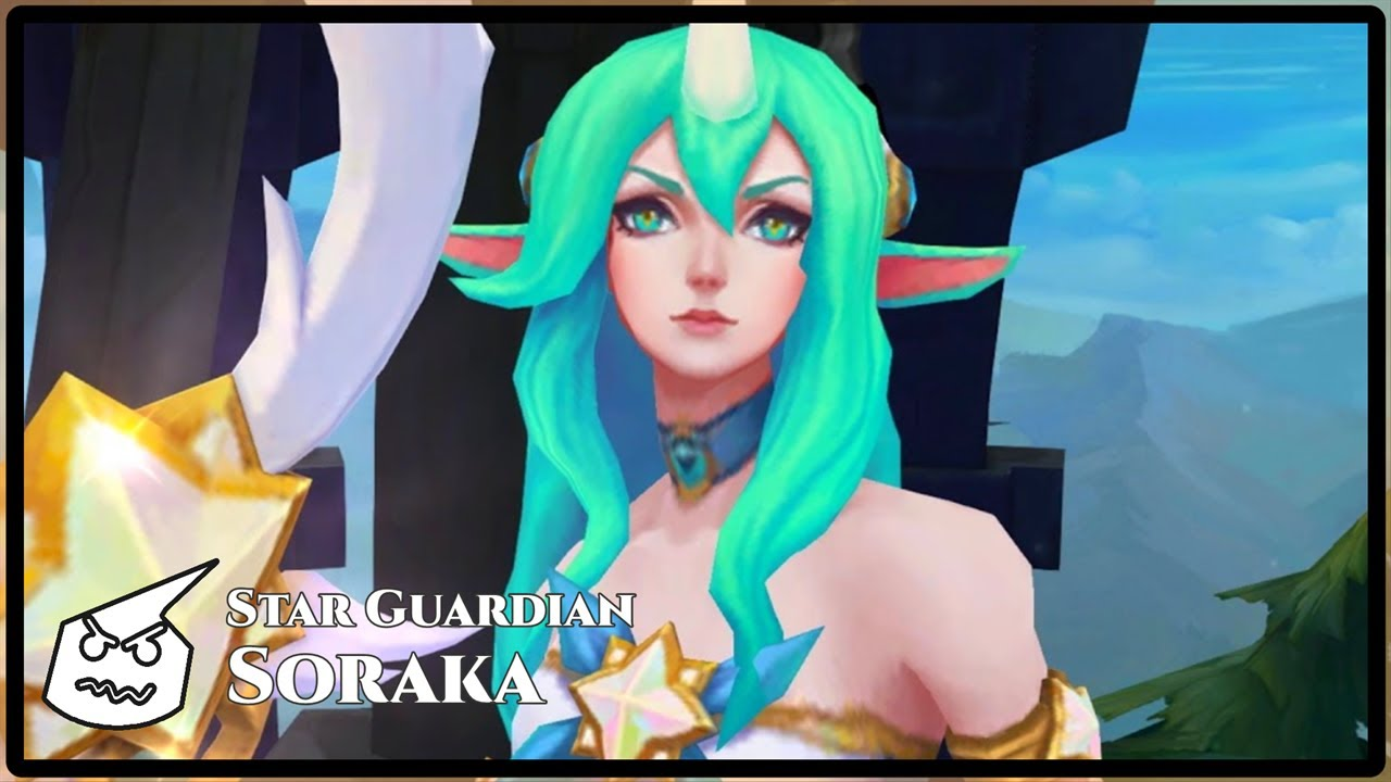 Star Guardian Soraka Face Youtube