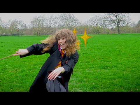 send this to a harry potter fan who needs some lumos in their day (DANCING HERMIONE)