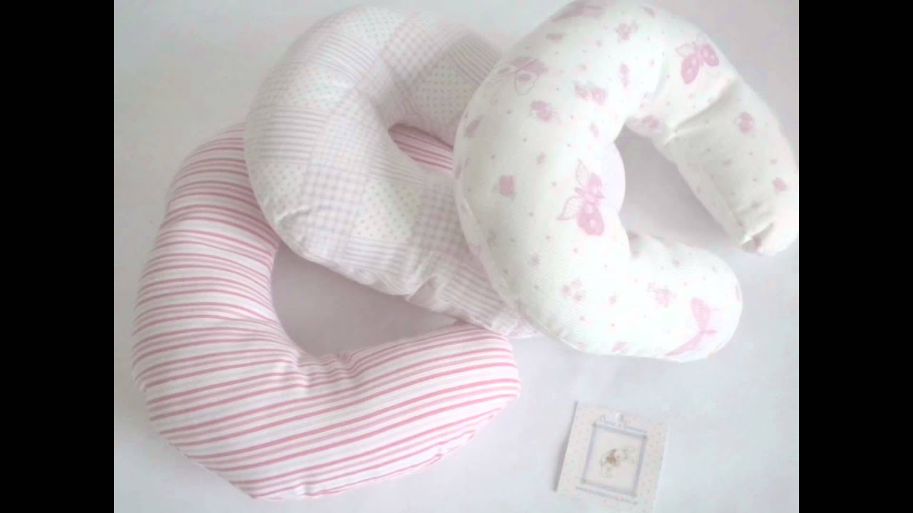 Cuellitos acolchados para bebés - YouTube