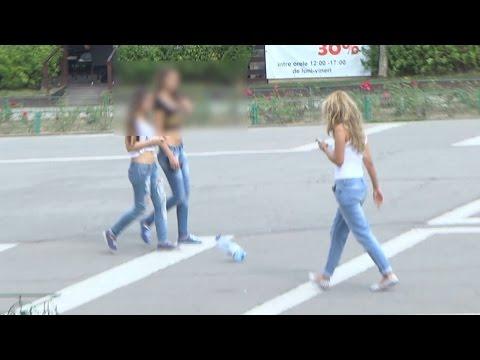 Experiment Social România - S1 ep2 - Aruncat gunoi / Dropping litter