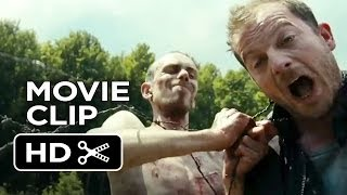 Open Grave Movie CLIP - The Fence (2013) - Sharlto Copley Movie HD