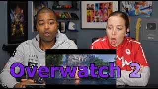 "Overwatch 2 Announce Cinematic | ""Zero Hour"" (Jane and JV REACTION 🔥)"