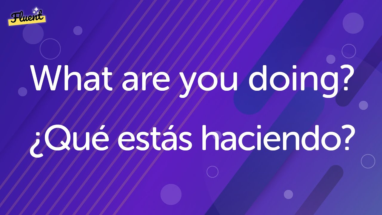 Practice making and speaking basic Spanish conversation phrases