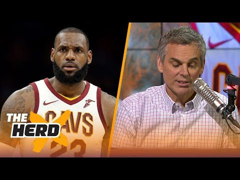LeBron James to the Houston Rockets this summer? Colin thinks it could work   THE HERD