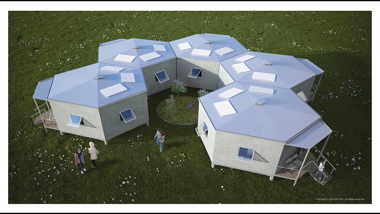 Hex House Architects For Society Youtube