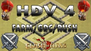 Speed Building HDV 4 GDC/RUSH   CLash of Clans