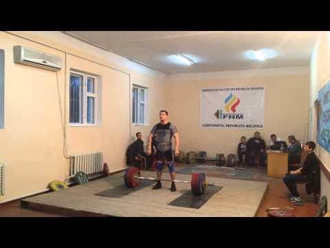 Măriuță Nicolae 173 kg aruncat CRM HALTERE 2014