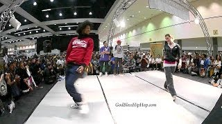 Marie Poppins vs Larry (Les Twins)  Dinoi vs Ruin: All Style Battle SEMI FINALS WOD World of Dance