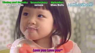 Chu Sunghoon and Chu Sarang Loveyou Yogurt CF 30secs Trans: zetsuu ...