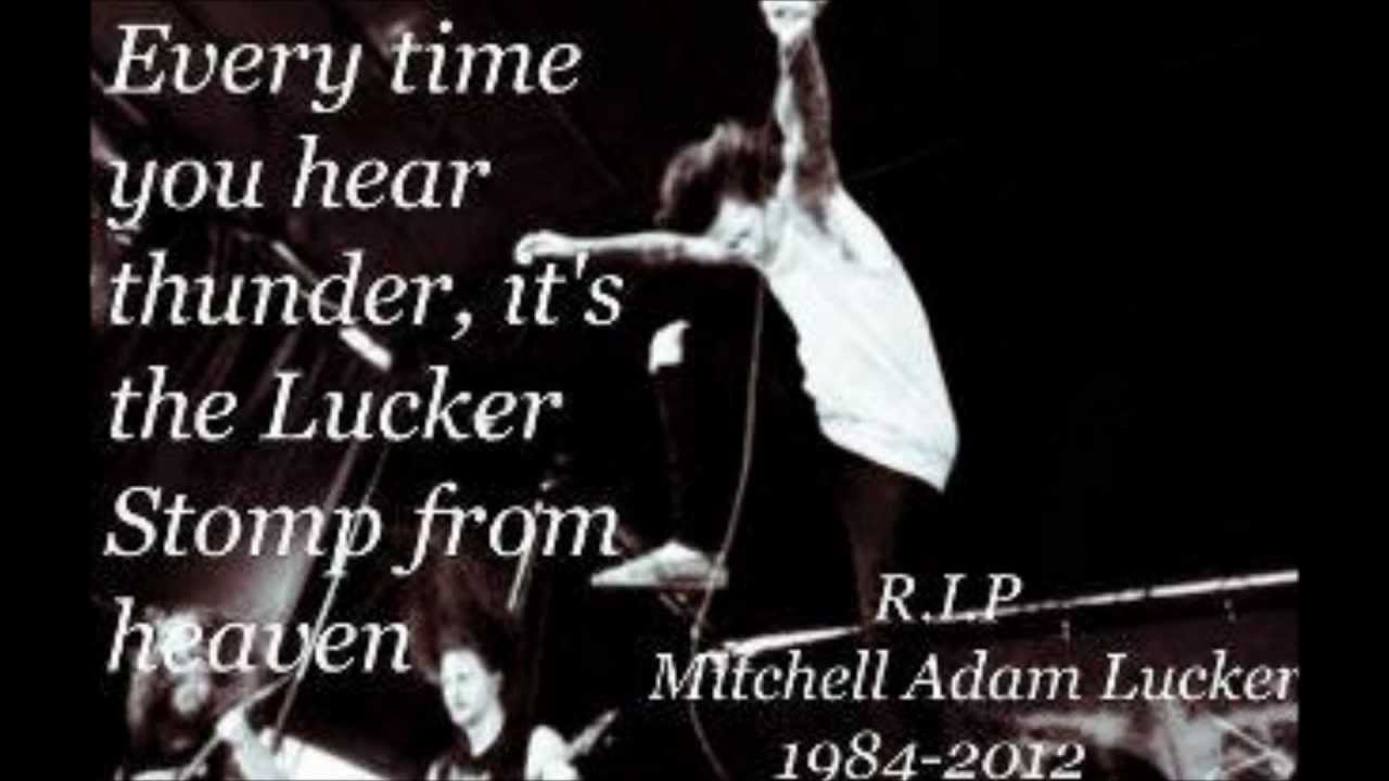 You only live once, my tribute to Mitch Lucker - YouTube