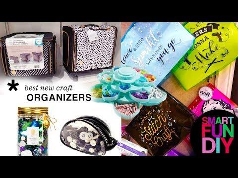 2018 Craft Organizing TRENDS from Creativation! Best Craft Storage Ideas    SmartFunDIY