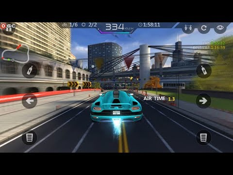 City Racing Lite / 3D Sports Car Racing Games / Android Gameplay #5