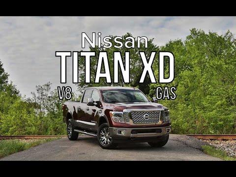 2016 Nissan Titan XD GAS V8 Review