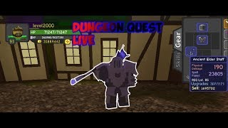 ROBLOX LIVE | DUNGEON QUEST | THE UNDERWORLD [LVL 93]