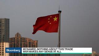 China-U.S. Trade War Doesn't Make Sense, Elevation's McNamee Says