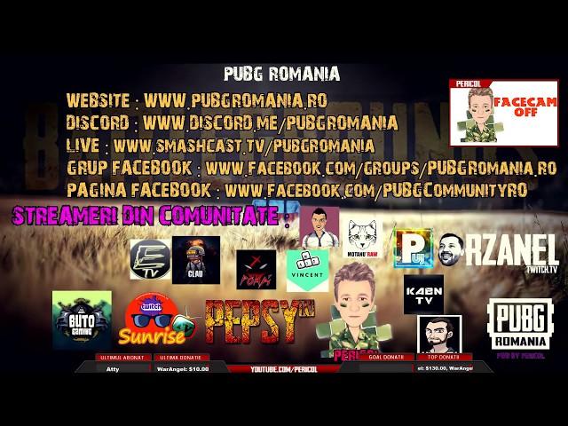 ???? PUBG ROMANIA - WEEKEND - FACECAMOFF