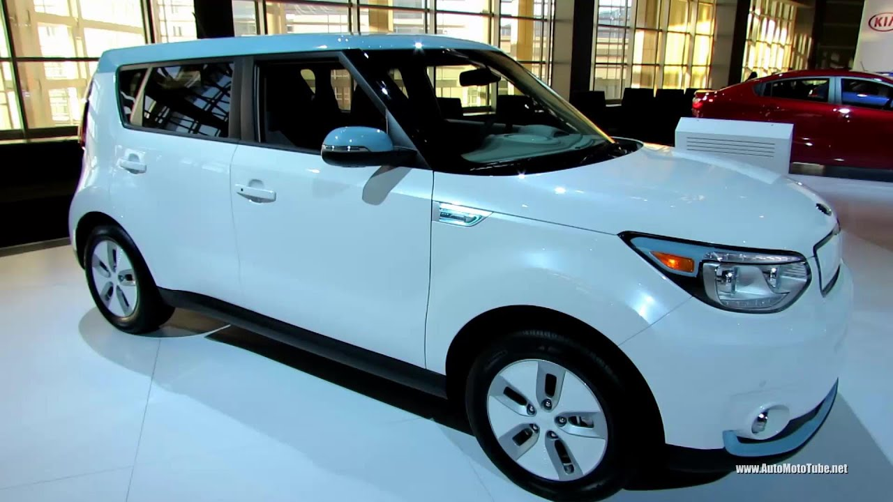 Kia Soul Electric Vehicle Exterior And Interior Walkaround