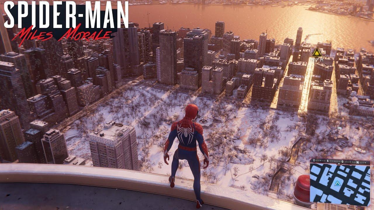 Download SPIDER-MAN MILES MORALES PS5 ! JOUER PETER PARKER COMME SPIDER-MAN !