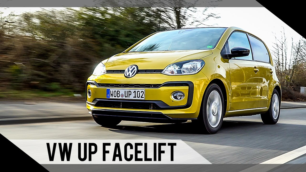 volkswagen up facelift 2017 2016 test review. Black Bedroom Furniture Sets. Home Design Ideas