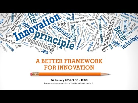A better framework for innovation, 26 January 2016