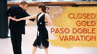 Closed Gold Paso Doble Variation