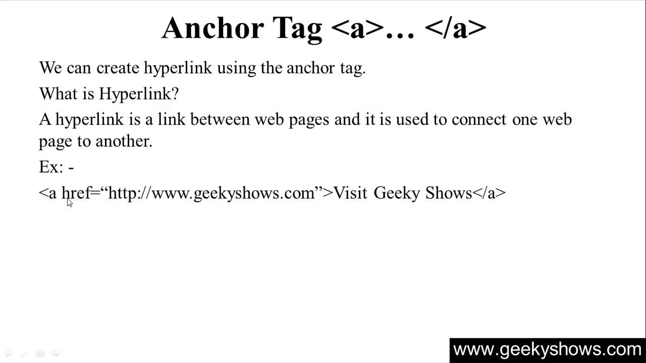 53. Anchor Tag in HTML (Hindi) - YouTube