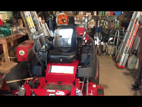 Initial Impressions of the Milsco Michigan V5400 Air Seat on a Ferris Mower
