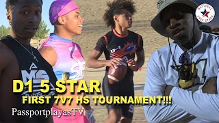 UNKNOWN and DISRESPECTED in programs 1ST EVER HS Tournament! D1 5 STAR SEASON SERIES… VOL. 1