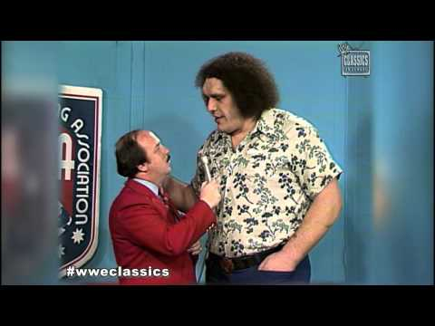 WWE Classics- Andre The Giant, AWA w/ Mean Gene