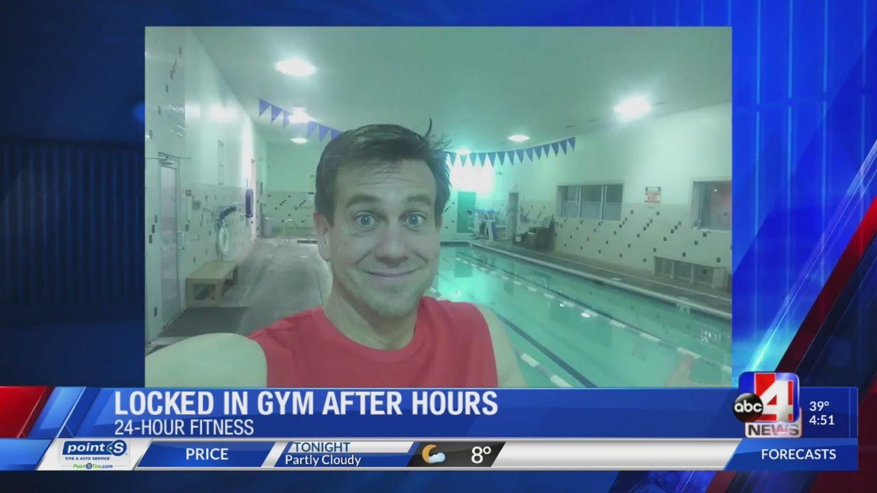 Man locks himself inside a gym GMU